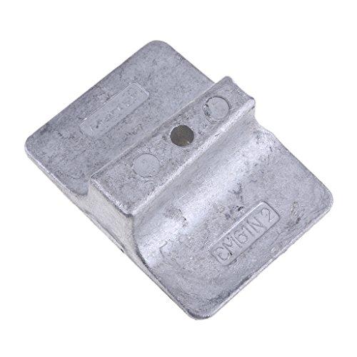B Blesiya Anodenplatte Anodenplattenbasisplatte für 9,9 PS, 15 PS, 25 PS, 30 PS 1995-2002 Yamaha Außenborder Motor -