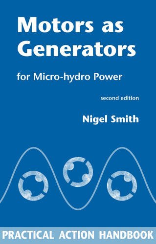 Motors as Generators for Micro Hydro Power por Nigel Smith