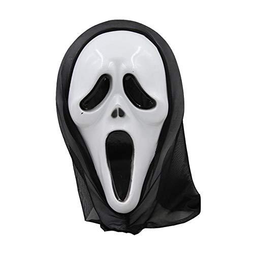 Rstant Halloween Kostüm Scream Horror Maske Halloween Karneval Fasching Vollmaske Für Halloween Maskerade/Cosplay Party Pretty - Pretty Witch Kostüm