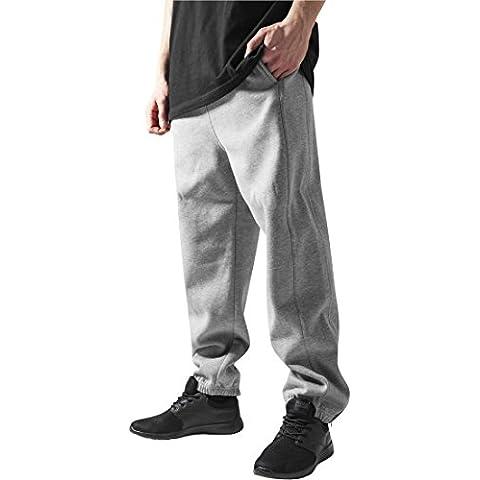 Urban Classics TB014B Sweatpants Pantalone Tuta uomo XXXL Grigio
