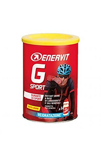 Nahrungsergänzungsmittel für Sport Per Lo Sport A Base Di Sali Minerali Magnesio E Potassio Enervit G Sport Instant Drink Gusto Limone 420 G