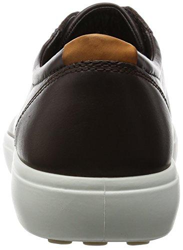 Ecco Soft 7 Men's, Baskets Basses Homme Marron (mocha01178)
