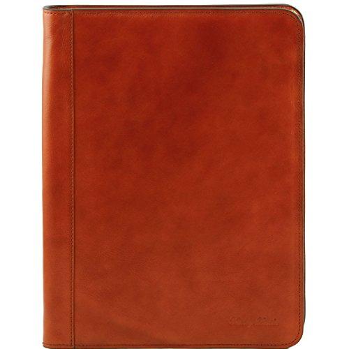Tuscany Leather Ottavio - Porte-document en cuir Marron foncé Porte-document en cuir Miel