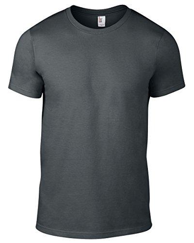 Anvil Herren T-Shirt Anthrazit