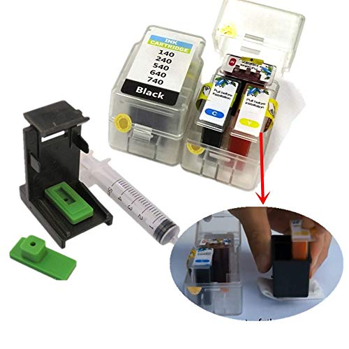 HAMISS DIY Refill kit for Canon PG 540 CLI 541 Ink Cartridge MG4250 MX375 MX395 MX435 MX455 MX475 MX515 MX525 MX535 TS5150 TS5151 Print