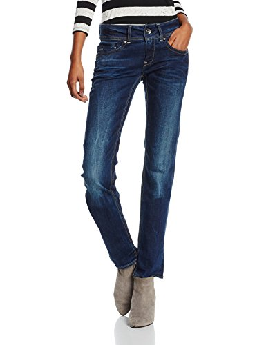 G-STAR RAW Damen Jeans Midge Saddle Mid Straight Wmn