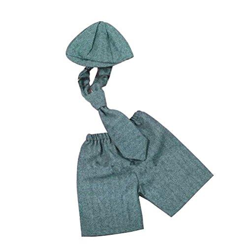 4 Baby Altes Monat Kostüm - STOBOK Neugeborene Mode Outfits kostüm Baby Fotografie Requisiten kostüm Anzug 0-6 Monate altes Baby Baby Outfits für fotografieren eingestellt