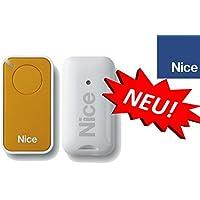 Nice inti1y Yellow de 1canal handsender, 433.92MHz Rolling Code. compatible con flor de S, One, Flore, INTI fernbedienungen.