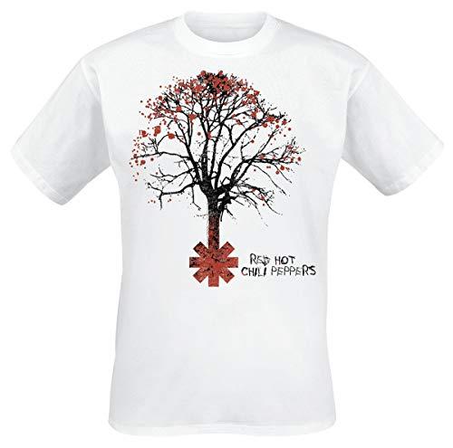 Red Hot Chili Peppers Higher Ground T-Shirt weiß M - Hot Herren T-shirts