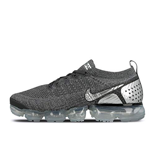 huge discount 63489 1b501 Nike Herren Air Vapormax Flyknit 2 Fitnessschuhe Mehrfarbig Chrome Dark  Cool Grey 014, 45