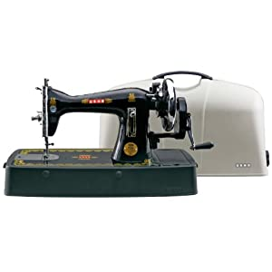 Usha Bandhan Straight Stitch Composite Sewing Machine (Black)