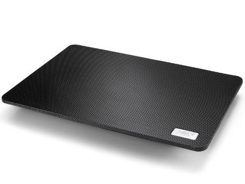 DEEPCOOL N1 Laptop Cooling Pad 180 mm Lüfter mit regelbarer Geschwindigkeit Notebook-Kühler (schwarz)