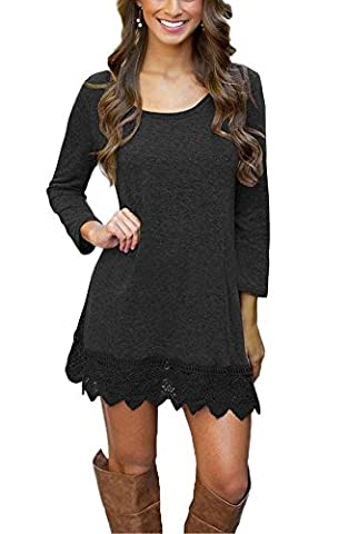 ICOCOPRO Damen Kleid Gr. S, schwarz