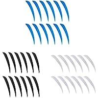 IPOTCH 36 Unidads Plumas de Flechas Reemplazo Tiro Piezas Accesorios de Flechas Duradero