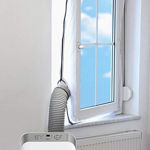 TROTEC AirLock 100 Impermeabilización de ventanas para aires acondicionados móviles Hot Air Stop/Aislamiento...
