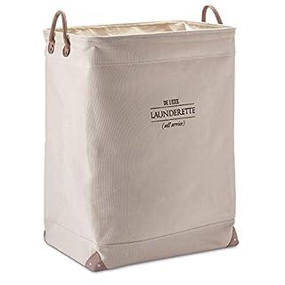 Aqua Nova Large Laundry Basket Beige Luxury Launderette '