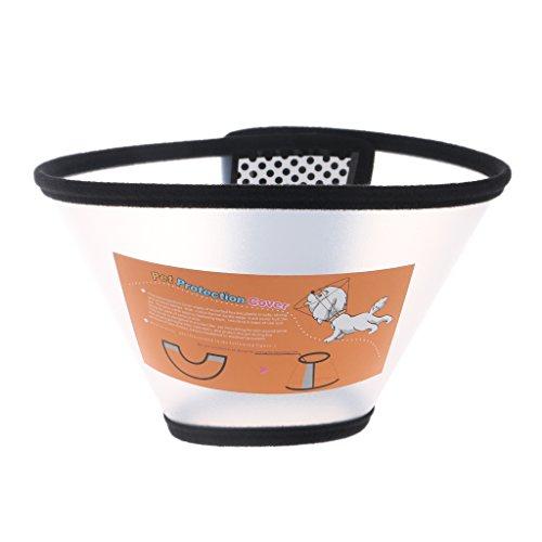 ustierhalsband Wundheilungsschutz Kegel E- Halsband für Kleine Tiere Hunde Katzen Elizabethan ()
