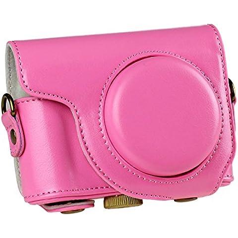 Generic cámara caso bolsa protectora de piel desmontable para Casio ZR3500ZR2000