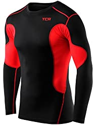 Mens & Boys TCA SuperThermal Compression Base Layer Top Long Sleeve Thermal Under Shirt