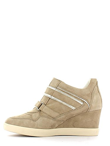 Geox , Baskets pour femme Beige - Taupe