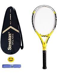 3597b2cd0f Senston Adulto Full Carbon Racchetta da Tennis, in Fibra di Carbonio  Racchetta da Tennis,