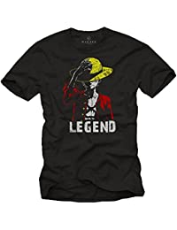 Luffy Tee Shirt - Legend - Monkey One T-Shirt