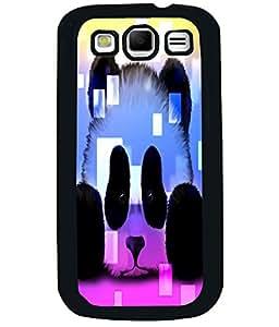 PRINTVISA Little Panda Premium Metallic Insert Back Case Cover for Samsung Galaxy S3 - I9300 - D6042
