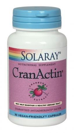 Solaray Cranactin Cranberry AF Extract 30 Kapseln Veg -