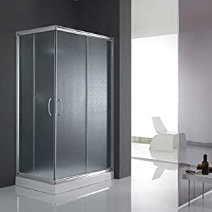cabine paroi douche 70x100 h185 opaque 5mm mod alabama. Black Bedroom Furniture Sets. Home Design Ideas