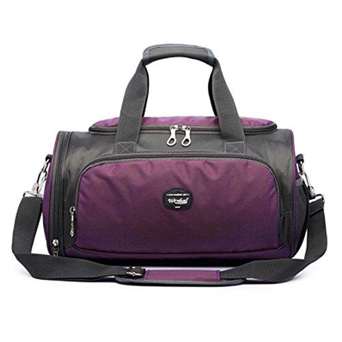 Hochwertige Sporttasche Yoga Tanztasche Reisetasche mit Schuhfach, C (Mit Fitnessraum Schuhfach)