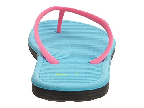 Nike Mädchen Solarsoft Thong 2 (Gs/Ps) Flip-Flops Rosa / Grün / Blau / Schwarz (Pink Explosion / GHST Grn-Gmm Bl-Blk)