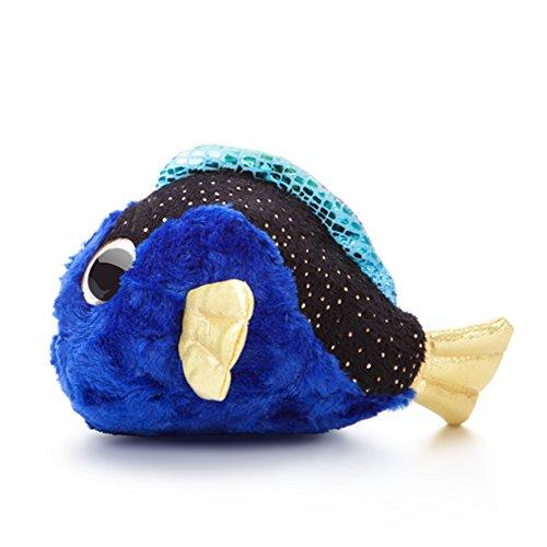 Aurora - 29179 - Peluche - Tangui le Poisson Chirurgien - YouHou et ses Amis Aquatiques - Taille Petit - Bleu