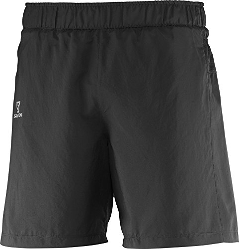 Salomon Herren Lauf-Short, TRAIL RUNNER, Taft, Schwarz, Größe: L, L38075400 Salomon Shorts