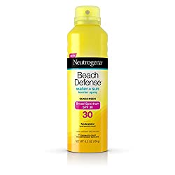 Neutrogena Beach Defense SPF30 Spray, 6.5 oz