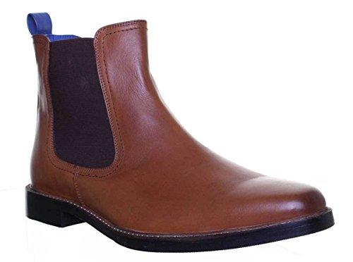 Justin Reece Logan, Chaussures de ville à lacets pour homme peau