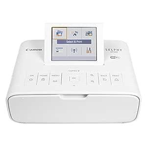 Canon SELPHY CP1300 Wireless Photo Printer (White)