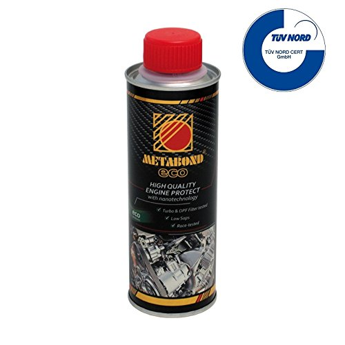 Metabond Eco Zusatzstoff für Motoröl, mindert Reibung und Verschleiß von Motoren für Benzin, Diesel und LPG