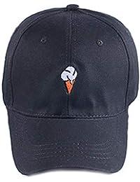 Daliuing Sombrero de Béisbol Lindo Helado Gorra de Deport al Aire Libre para  Hombre Mujer de 00b9fe0ba9a0