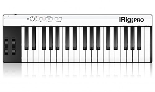 IK Multimedia iRig Keys Pro Universal Mobile Keyboard für Apple iPhone/iPod Touch/iPad und Mac/PC (Leer-tasten Tastatur)