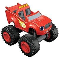 Blaze y los Monster Machines de Nickelodeon - Coche Blaze, Color Rojo (Mattel CGF21)