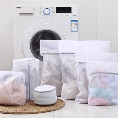 liltourist 8 Borse di lavanderia Premium per reggiseni, abbigliamento e calze | Rete lavanderia per lavatrice e asciugatrice | 8 Sacchetti della lavanderia