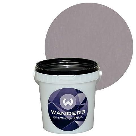 Wanders24 Shabby-Chic (1 Liter, Mauve) Kreide-Farbe Wand-Farbe Vintage Antik-Look