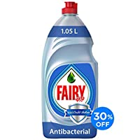 ‏‪Fairy Platinum AntiBac 1.05L Dish Washing Liquid Soap 30%Off‬‏