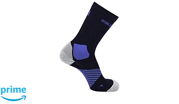 43-46 Night Sky//Nautical Blue XA Pro LC1129800 Size L Polyamide//Polyester Black//Blue SALOMON 1 Pair of Unisex Mid Socks