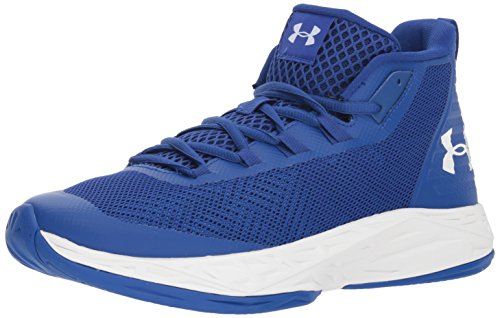 Under Armour UA Jet Mid, Scarpe da Basket Uomo, Blu (Royal/White), 47.5 EU