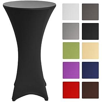 Black Spandex Cover Tablecloth For 216 60cm 100 120cm High