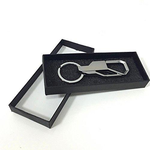 kooken-creative-car-metallo-keychain-supporto-chiave-di-fob-chiave-per-gli-uomini-argento