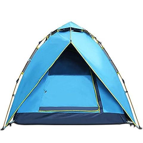 XG 3-4 personnes automatique pull rope extérieur super pluie double tentes
