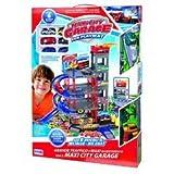 DETTALGROS- RS Toys Garage A Piani con Auto + Tappeto-Playset, 10234