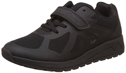 Clarks Boy's Black First Walking Shoes - 11 kids UK/India (29 EU)